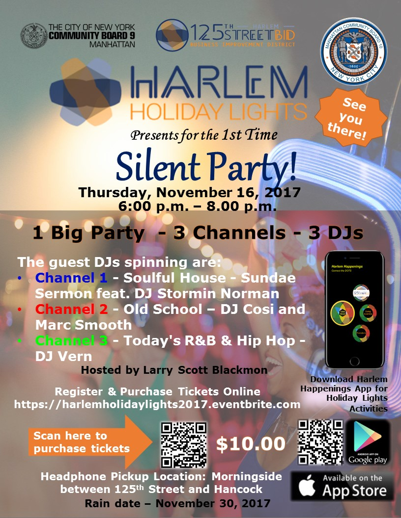 Final Silent Party Flyer