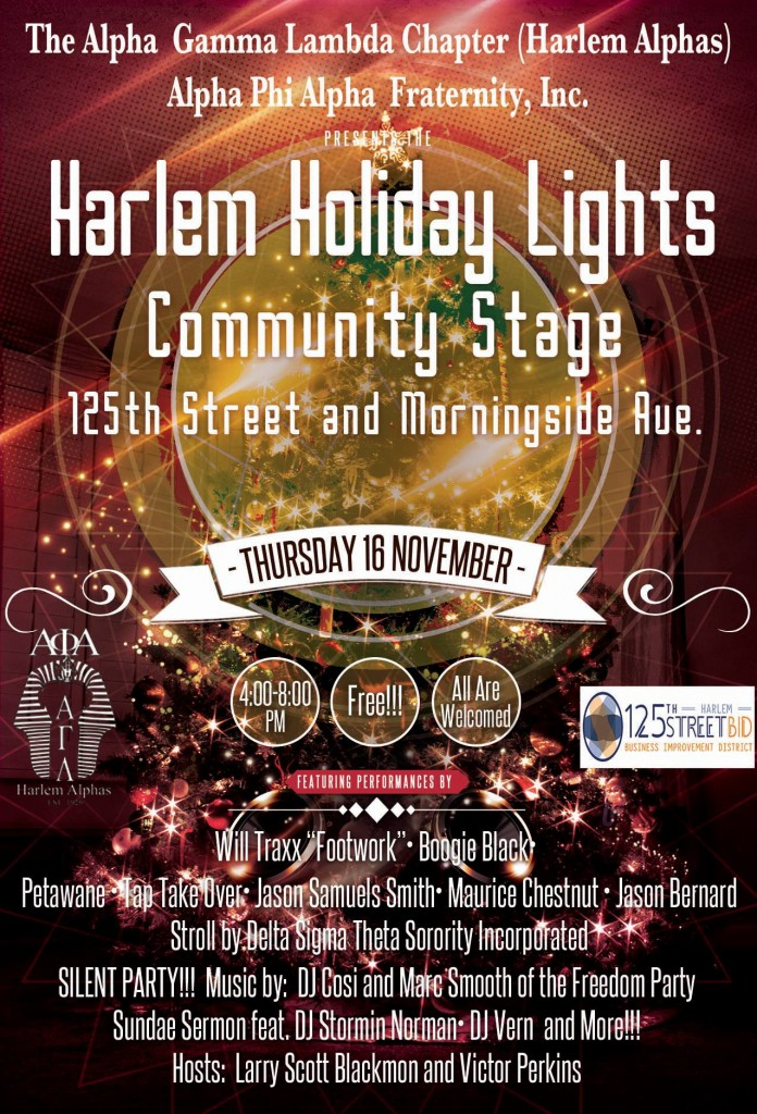 harlem community stage